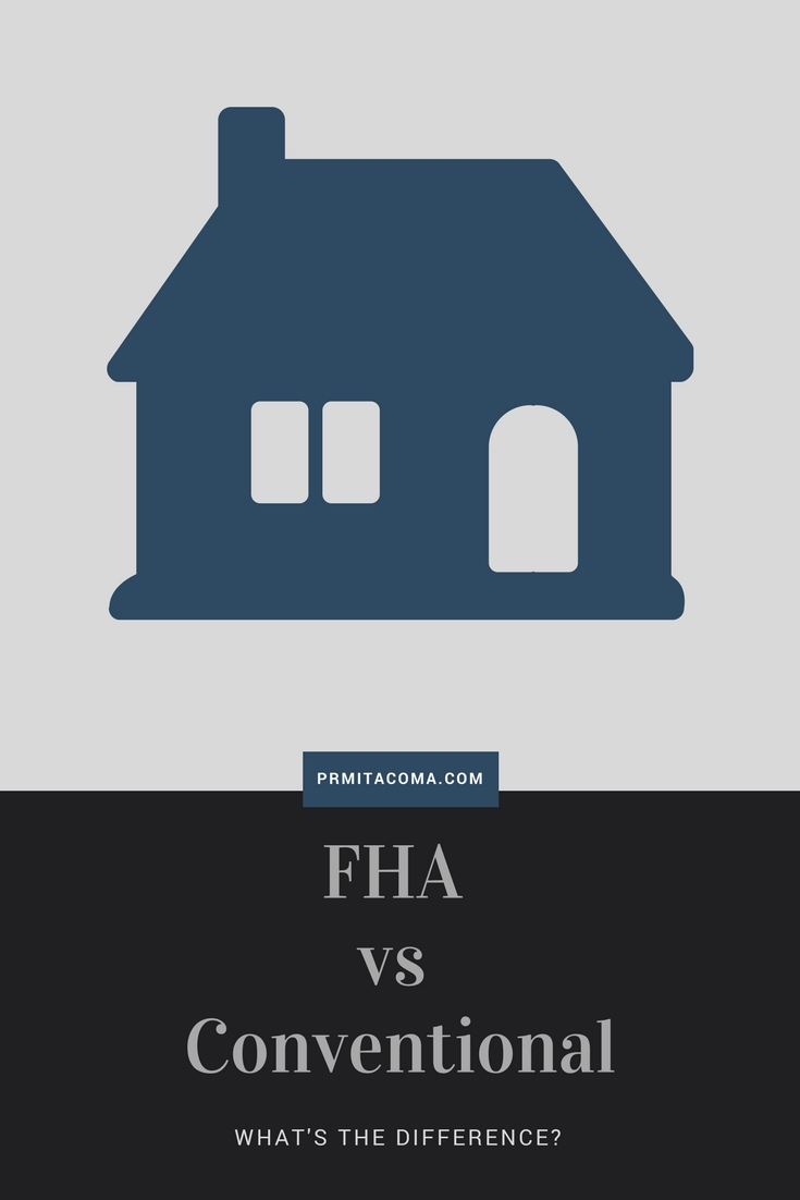 tacoma home loans fha vs conventional what 39 s the difference. Black Bedroom Furniture Sets. Home Design Ideas